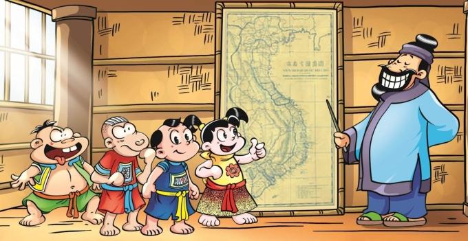 Bản đồ cổ Việt Nam