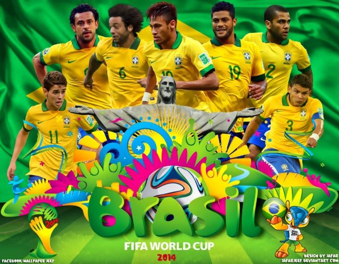 Đội chủ nhà Brazil