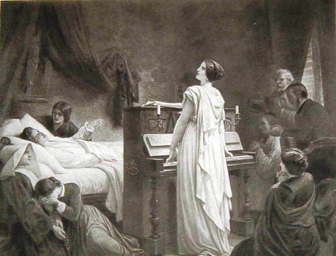 Nhạc sỹ thiên tài Chopin lúc lâm chung